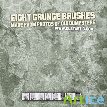 Grunge Brushes for PS by dubtastic
