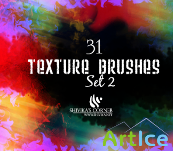 Texture Brushes Set 2 by spiritcoda