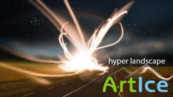 Hyper Landscape Photo Effect