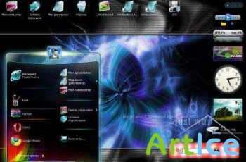 FLASH Tema Live XP/Vista