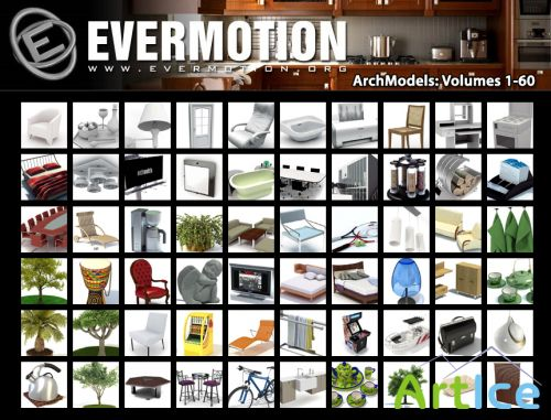 Evermotion - ArchModels Vols. 1-60