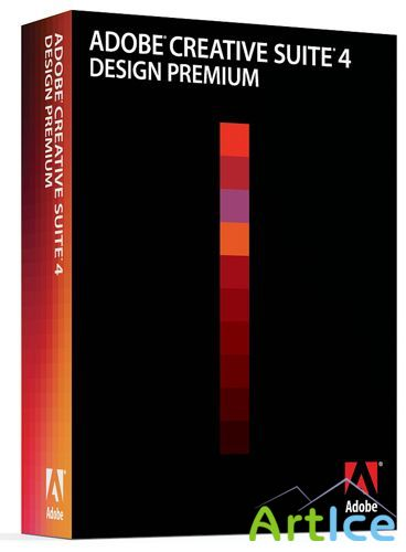 ADOBE CS 4 DESIGN PREMIUM (RETAIL) RUSSIAN ONLY RIP