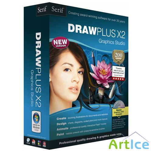 Serif DrawPlus X3 10.0.0.15 Multilingual
