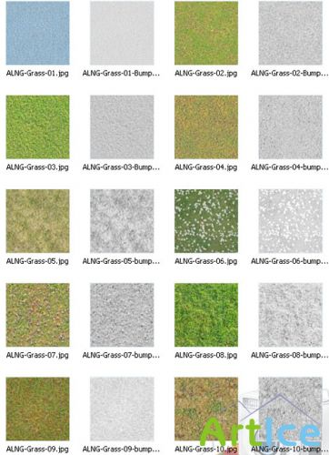 AmbientLight Texture - Grass Texture Collection