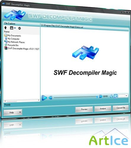 SWF Decompiler Magic v5.0.2.89