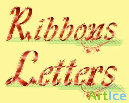 Ribbons Letters