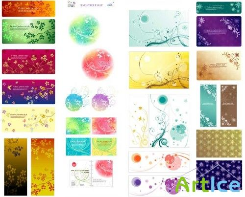 Vector backgrounds from Lemontree