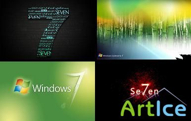 110 Windows 7 desktop wallpapers
