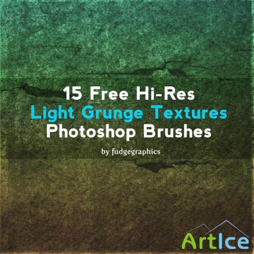 Light Grunge PS Brushes by fudgegraphics