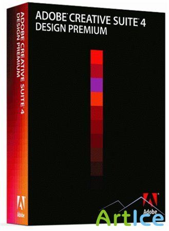 Adobe CS4 Design Premium 3 DVD Retail