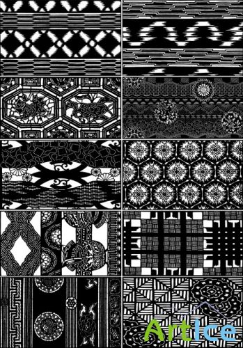 Japanese ornaments and patterns 18   Японские орнаменты и узоры 18