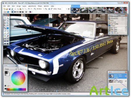 Paint NET 3.36+Paint NET 3.5 Beta 3561 Install