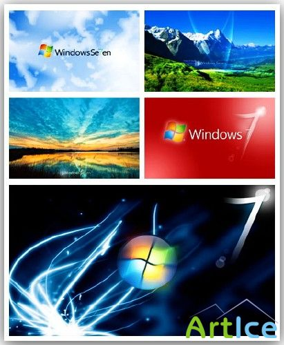 Windows7 Wallpapers pack(2)