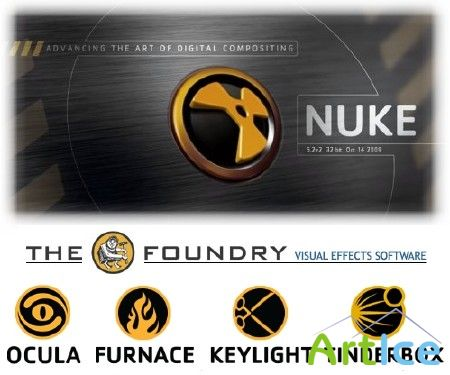 The Foundry Nuke 5.2v3 With All plugins (Updated 19/11/2009)