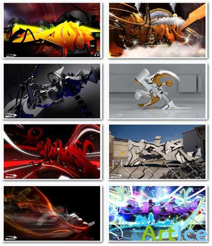 3D Graffiti HD