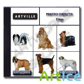 Artville Photo Objects PO018 - Dogs
