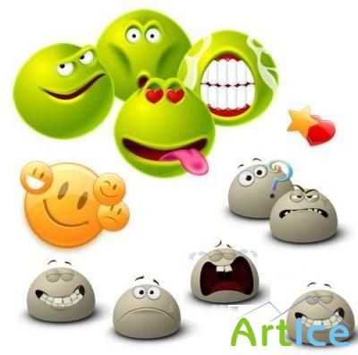 Collection of Emoticons
