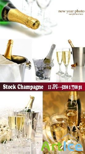 Stock champagne