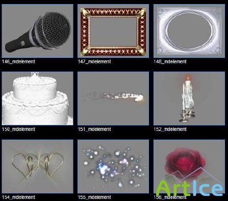 Digital Juice - Editor's Toolkit 03: Wedding Tools I MDElement часть 2