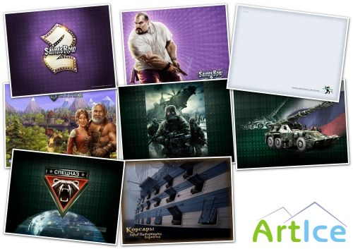 Обои - Games wallpaper collection pack[104]