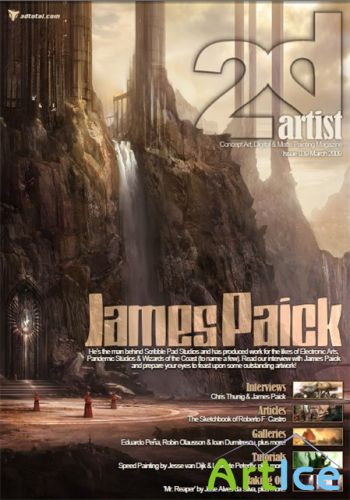2D Artist Issue 39- March 2009