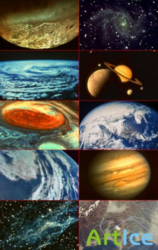 Clipart - Space and Planets
