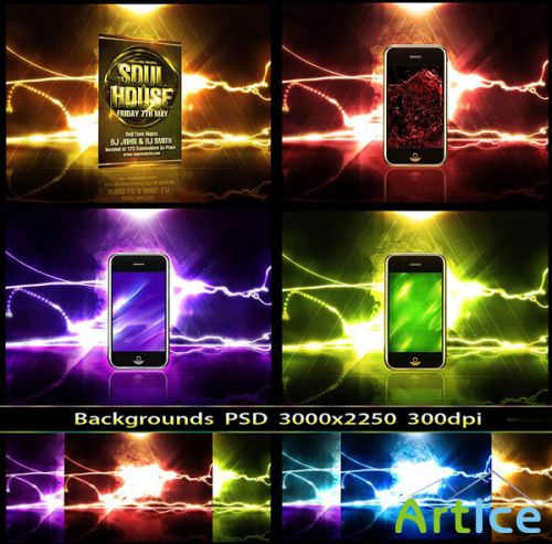 PSD - Product Display Backgrounds 2