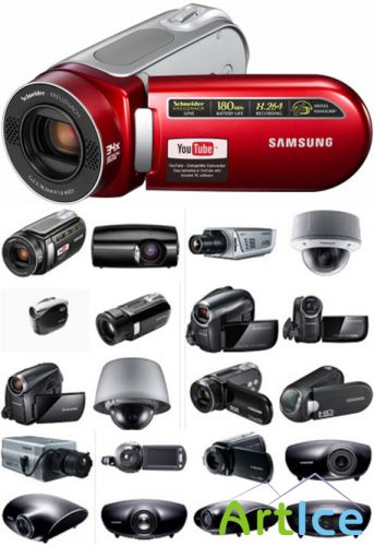 Clipart – Cameras and projectors