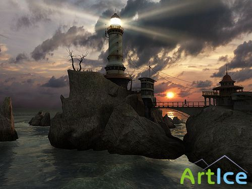 Lighthouse Point 3D Screensaver 1.1.0.3