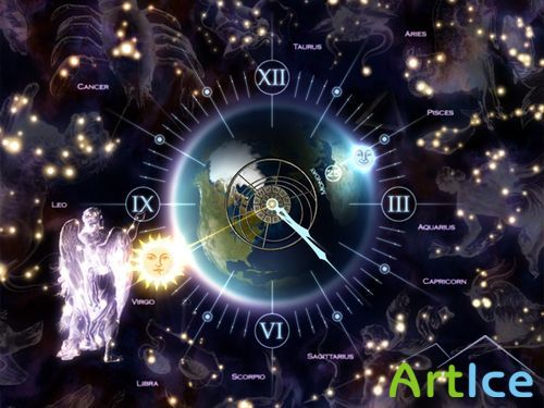 Zodiac Clock 3D Screensaver 1.0.0.4
