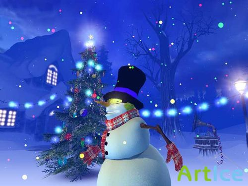 Christmas 3D Screensaver 1.0.0.9