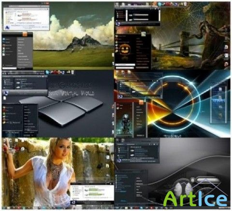 Creative themes for Windows 7 vol.20.2011