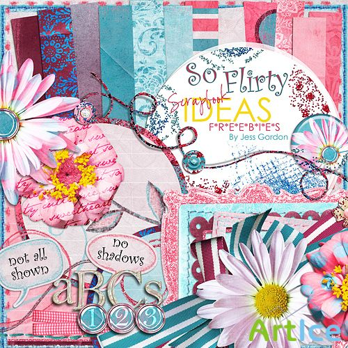 Scrap-set - So Flirty Semi