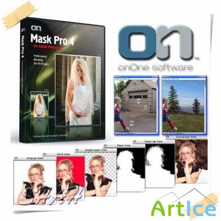 OnOne Software Mask Pro 4.1.9с Photoshop Plugin