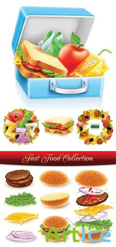 Stock Vector - Fast Food Collection