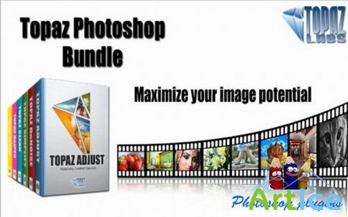 Topaz Photoshop Plugins Bundle (x32/x64) {2011.03.30} [Eng]