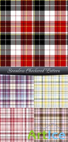 Seamless Checkered Pattern | Клетчатый фон