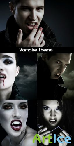 Vampire Theme - Stock Photos