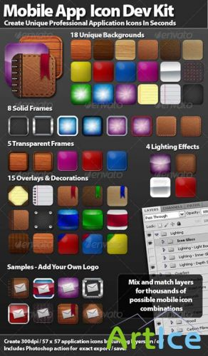 GraphicRiver - Mobile Icon Development Kit