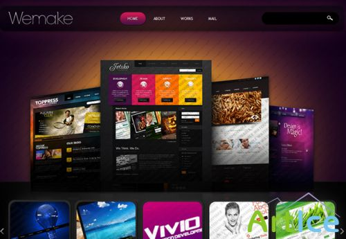Free Wemake Design Website Template
