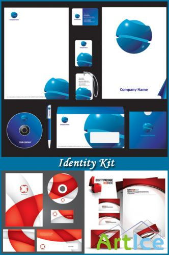 Identity Kit - Stock Vectors