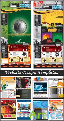 Website Design Templates - Stock Vectors