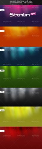 Extremium Lights Extremely Clean Background Pack - GraphicRiver