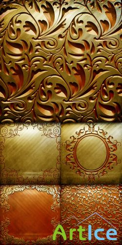 Textures - Vintage Metal Backgrounds