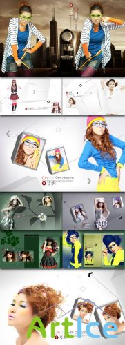 Dream Art photo template #1