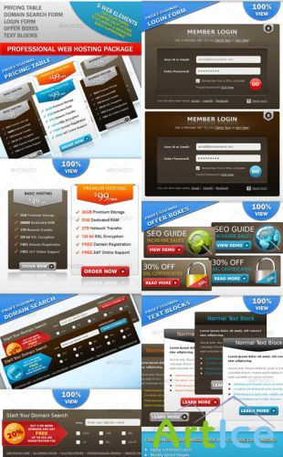 Web hosting package - GraphicRiver