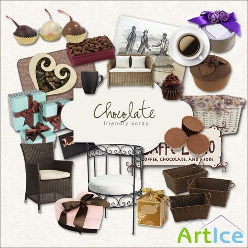 Scrap-kit - Love Chocolate