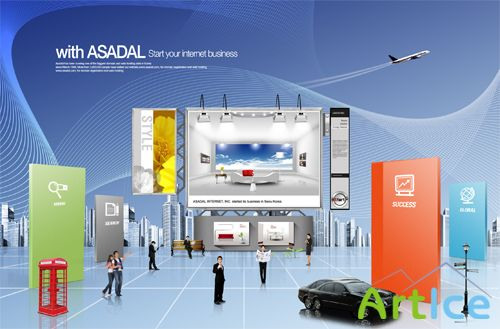 Exhibition of Products PSD