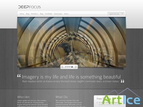 ElegantThemes DeepFocus Theme v 2. 6 April