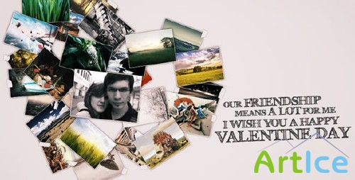 After Effects Project - VideoHive Foto Heart 77220